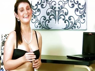 Beautiful MILF First Naughty Video